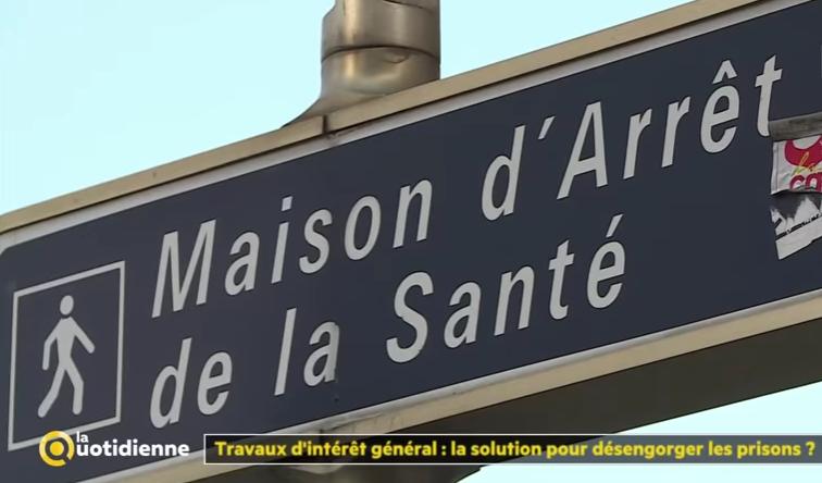 Reportage France 5 travail d'intérêt général